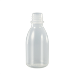 Fles PE 50ml nat. z/dop