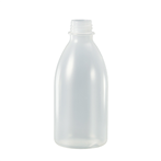 Fles PE 250ml nat. z/dop