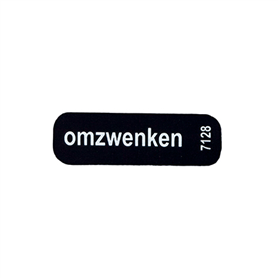 Sticker Omzwenken