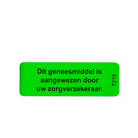 Sticker Preferentiebeleid